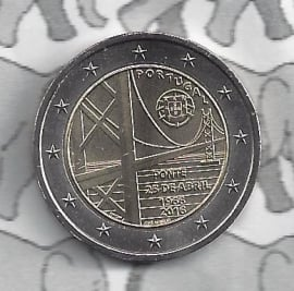"""Portugal 2 euromunt CC 2016 """"50 jaar brug"""""""