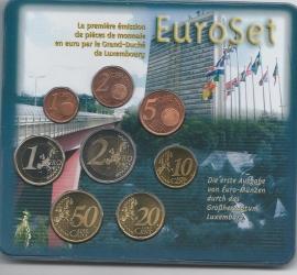 Luxemburg BU set 2002