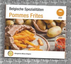 """België BU set World Money Fair 2020 """"Pommes Frites"""""""