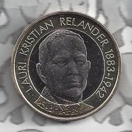 """Finland 5 euromunt 2016 (52e) """"Presidenten, Relander"""""""