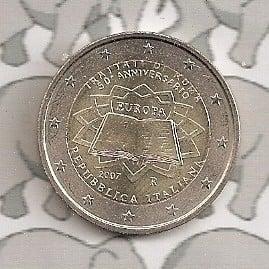 "Italië 2 euromunt CC 2007 ""Verdrag van Rome"""