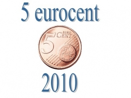 Luxemburg 5 eurocent 2010