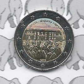 "Malta 2 euromunt CC 2012 ""Majority"" (kleur 1 x)"