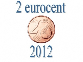 Portugal 2 eurocent 2012
