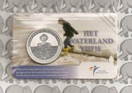 "Nederland 5 euromunt 2010 (16) ""Het Waterland vijfje"" (in coincard)"