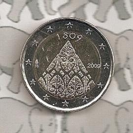 """Finland 2 euromunt CC 2009 """"200 jaar Finland"""""""