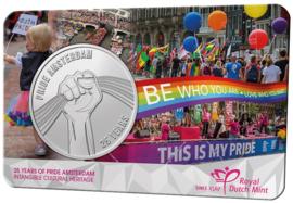 "Nederland coincard 2021 ""25 jaar Pride Amsterdam"" (penning)"