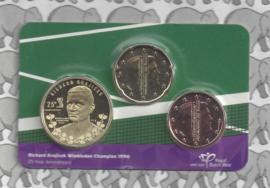 """Nederland coincard 2021 """"Richard Krajicek Wimbledon jubileum"""""""