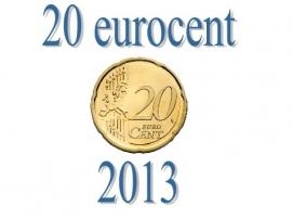 Ierland 20 eurocent 2013