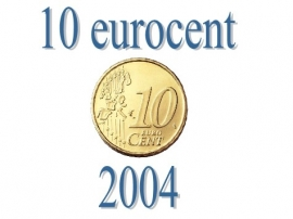 Portugal 10 eurocent 2004