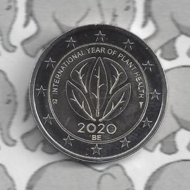 """België 2 euromunt CC 2020 """"Internationaal jaar van de plantengezondheid"""""""