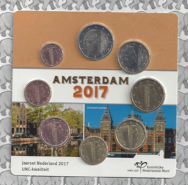 Nederland UNC set 2017 (in blister)