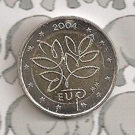 "Finland 2 euromunt CC 2004 ""EU"""