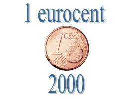 Spanje 1 eurocent 2000