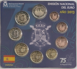 Spanje BU set 2013