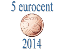 Luxemburg 5 eurocent 2014