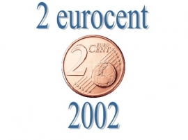 Portugal 2 eurocent 2002