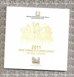 Italië BU set 2011 (10 munten)