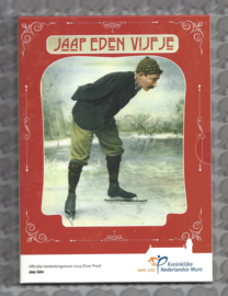 """Nederland 5 euromunt 2019 (44e) """"Jaap Eden vijfje"""" (zilver, proof in blister)"""