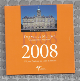 """Nederland BU set 2008 """"Dag van de munt"""""""