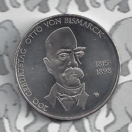 """Duitsland 10 euromunt 2015 (2e) """"Bismarck"""" (nikkel)"""