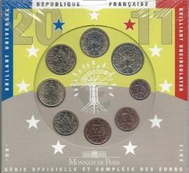 Frankrijk BU set 2011