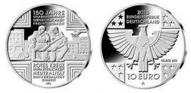 """Duitsland 10 euromunt 2013 (2e) """"Rode kruis"""""""