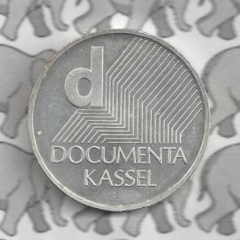 """Duitsland 10 euromunt 2002 (3e) """"Kunst tentoonstelling Kassel"""" (nikkel)"""