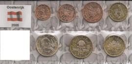 Oostenrijk UNC serie 2005 (7 munten)
