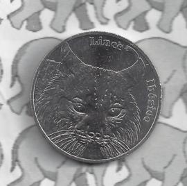 "Portugal 5 euromunt 2016 ""Lynx"""