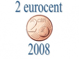 Portugal 2 eurocent 2008
