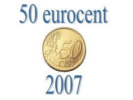 Luxemburg 50 eurocent 2007
