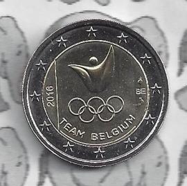 """België 2 euromunt CC 2016 """"Olympische Spelen in Rio de Janeiro"""""""