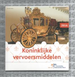 "Nederland BU set 2016 ""Koninklijke vervoersmiddelen"""