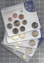 Duitsland BU sets 2014 (alle 5 de letters)