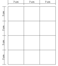 Lukos munthouder blad  (12 vaks, voor iedere 4 ringsklapper)