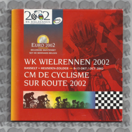 """Belgische BU set 2002 """"WK wielrennen"""""""