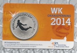 """Nederland Oranjepenning 2014 """"zweefduik van Persie"""""""