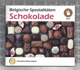 "België BU set World Money Fair 2019 ""Schokolade"""