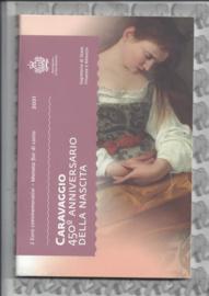"San Marino 2 euromunt CC 2021 (25e) ""450e Geboortejaar van Caravaggio"" (in blister)"