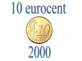 Finland 10 eurocent 2000