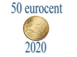 Luxemburg 50 eurocent 2020