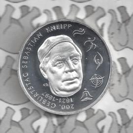 "Duitsland 20 euromunt 2021 (29e) ""200. Geburtstag Sebastian Kneipp"", zilver"