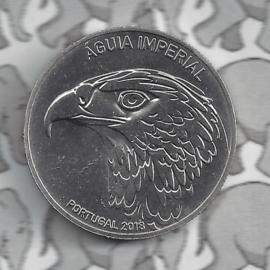 "Portugal 5 euromunt 2018 (26e) ""Bedreigde dierensoorten - De keizerarend"""