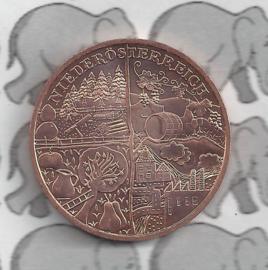 """Oostenrijk 10 euromunt 2013 (23e) """"Nieder Oostenrijk"""" (Brons)"""