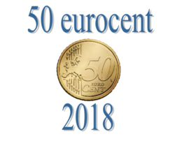 Portugal 50 eurocent 2018