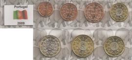Portugal UNC serie 2009 (7 munten)