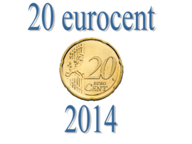 Luxemburg 20 eurocent 2014