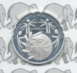 """Griekenland 10 euromunt 2011 """"Zomer Olympische spelen""""(uit BU set)"""