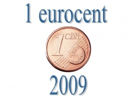 Portugal 1 eurocent 2009